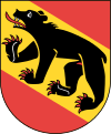 coat of arms canton of Bern CH021