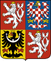 coat of arms Czech Republic CZ