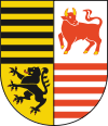 coat of arms Elbe-Elster District DE407