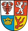 coat of arms Spree-Neiße District DE40G