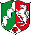 coat of arms North Rhine-Westphalia DEA