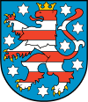 coat of arms Thuringia DEG0