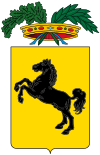 coat of arms Napoli ITF33