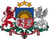 coat of arms Latvia LV