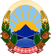 coat of arms North Macedonia MK