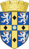 coat of arms County Durham UKC14