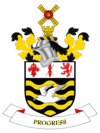 coat of arms Blackpool UKD42