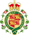 coat of arms Wales UKL