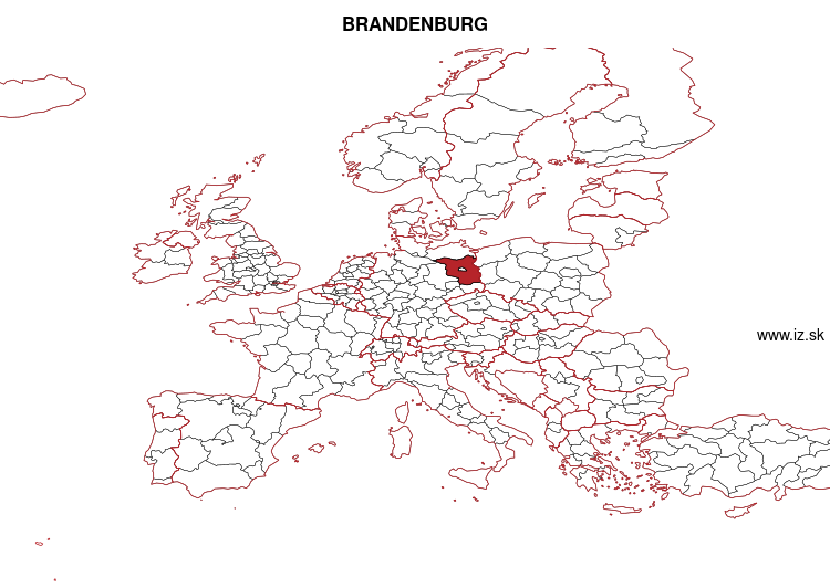 map of BRANDENBURG DE4