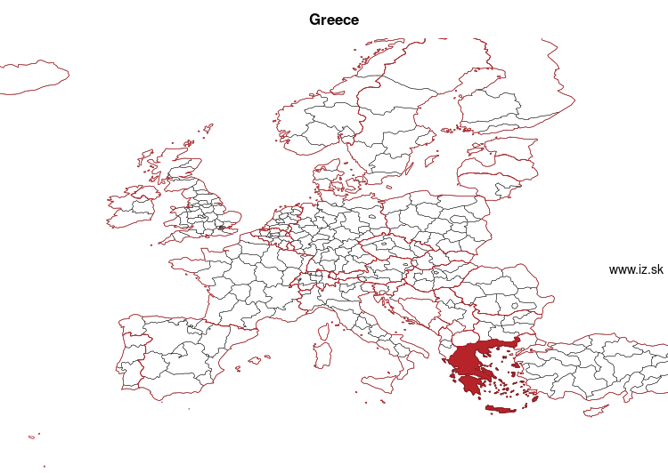 map of Greece EL